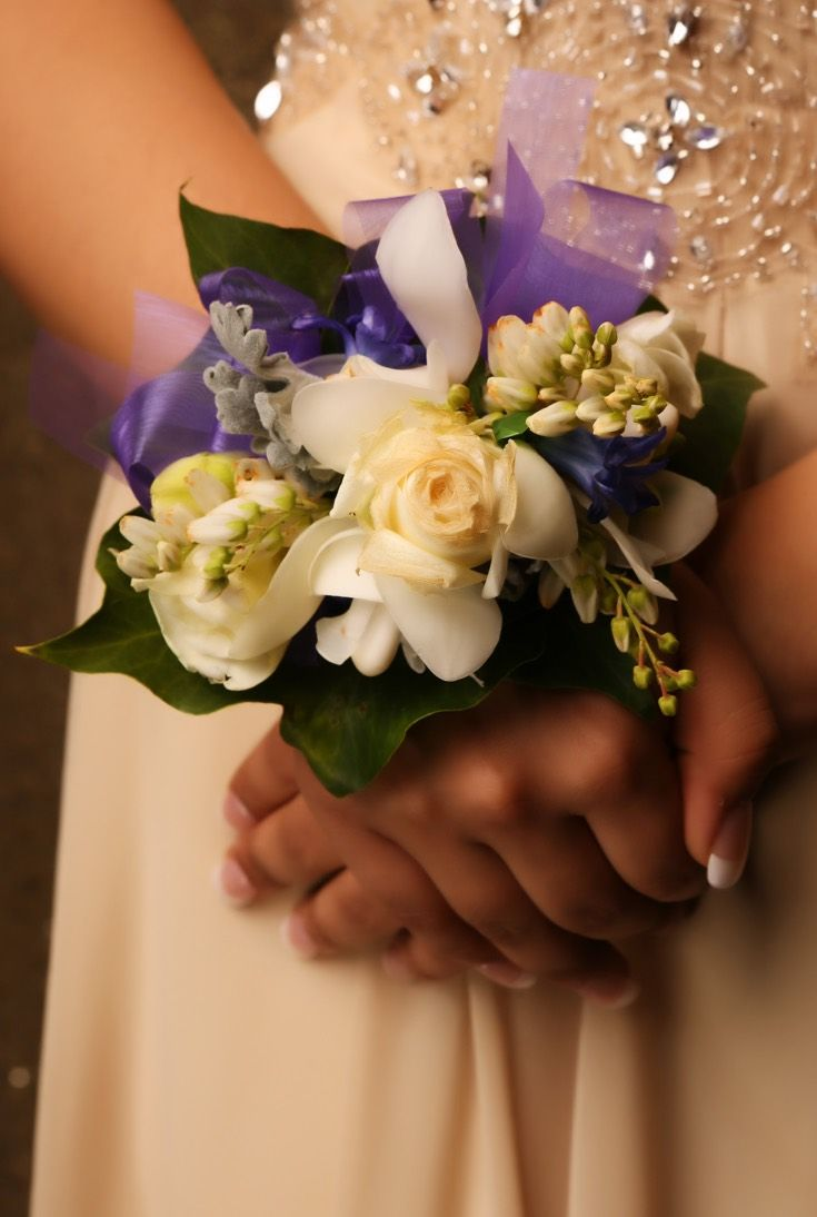 St Cuths Ball 2015. Adore this corsage! www.whitedoor.co.nz