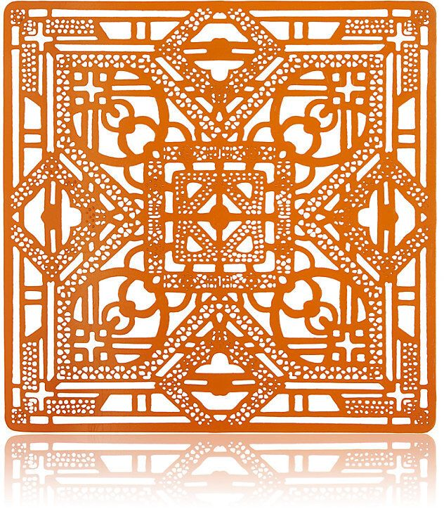 Affiliate/ad: Beautiful Orange Placemat! Great for a fall table setting!
