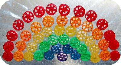 Pasta Rainbow kids' craft