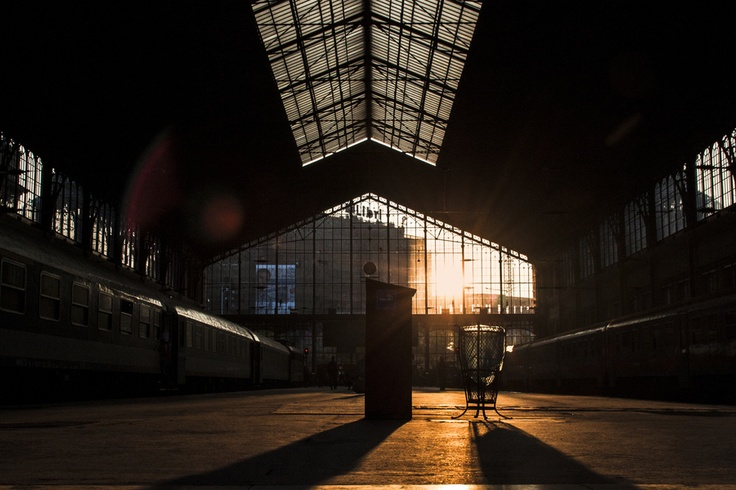 Nyugati Railway Terminal sunset by Jesper Ring Uglsøe, via 500px