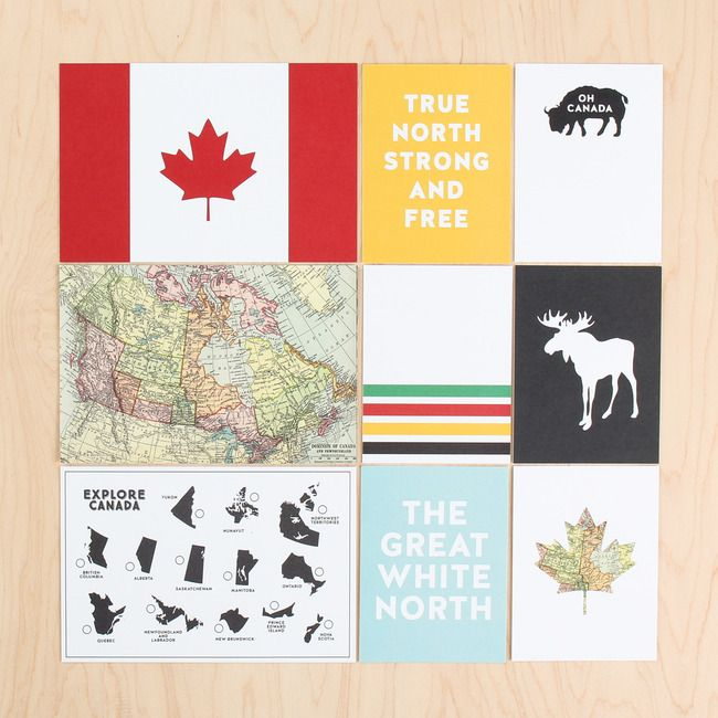 FINALLY!! Canada is getting some decent PL cards!! Canada Day Card Set by Hello Forever at @studio_calico