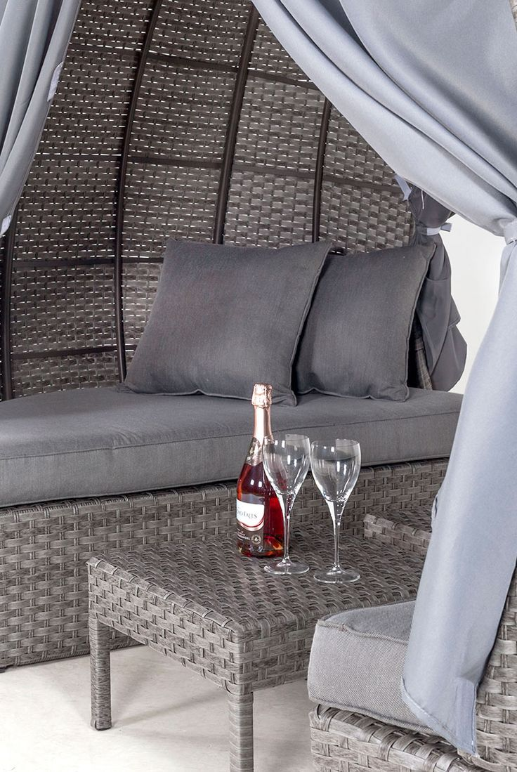 Grey Rattan Garden Furniture | Interior Furniture Design