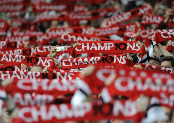 Manchester United Champ19ns Scarfs - Great for sports organisations!