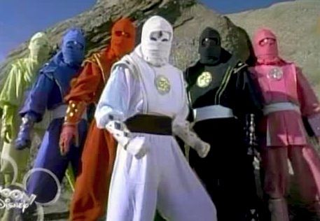 After the Mighty Morphin Power Rangers came the Thunder Rangers...  and then the Ninja Rangers.  THEY were cool...  every incarnation after that got more and more lame each time...