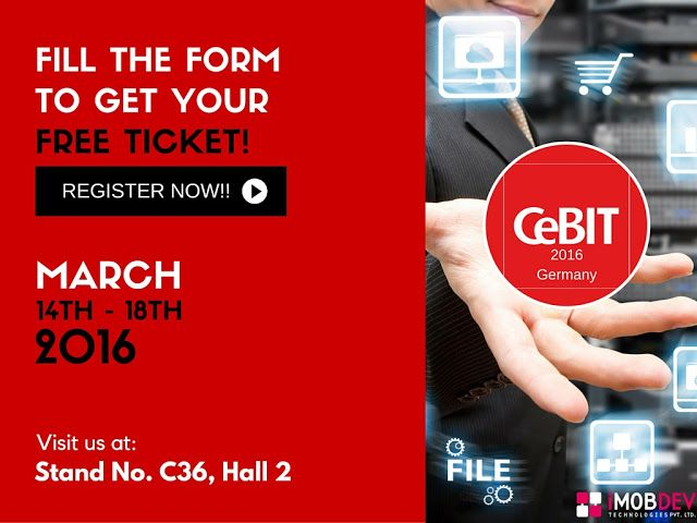 IMOBDEV Technologies To Participate In #CeBIT2016 #Hannover