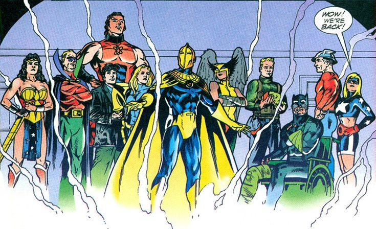 the new Dr  Fate into existence  Hippolyta  Sentinel  Atom-Smasher    New 52 Atom Smasher
