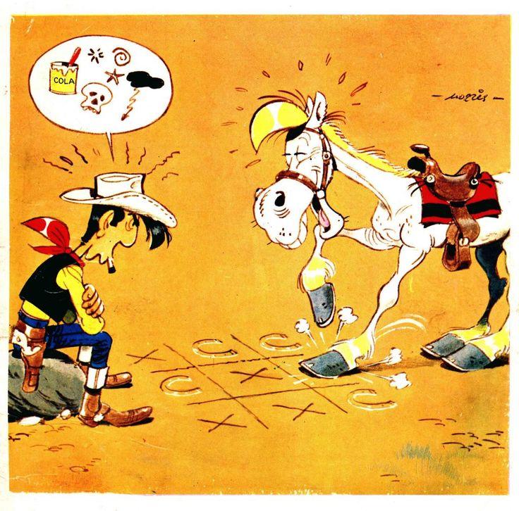 Lucky Luke VS Jolly Jumper xD