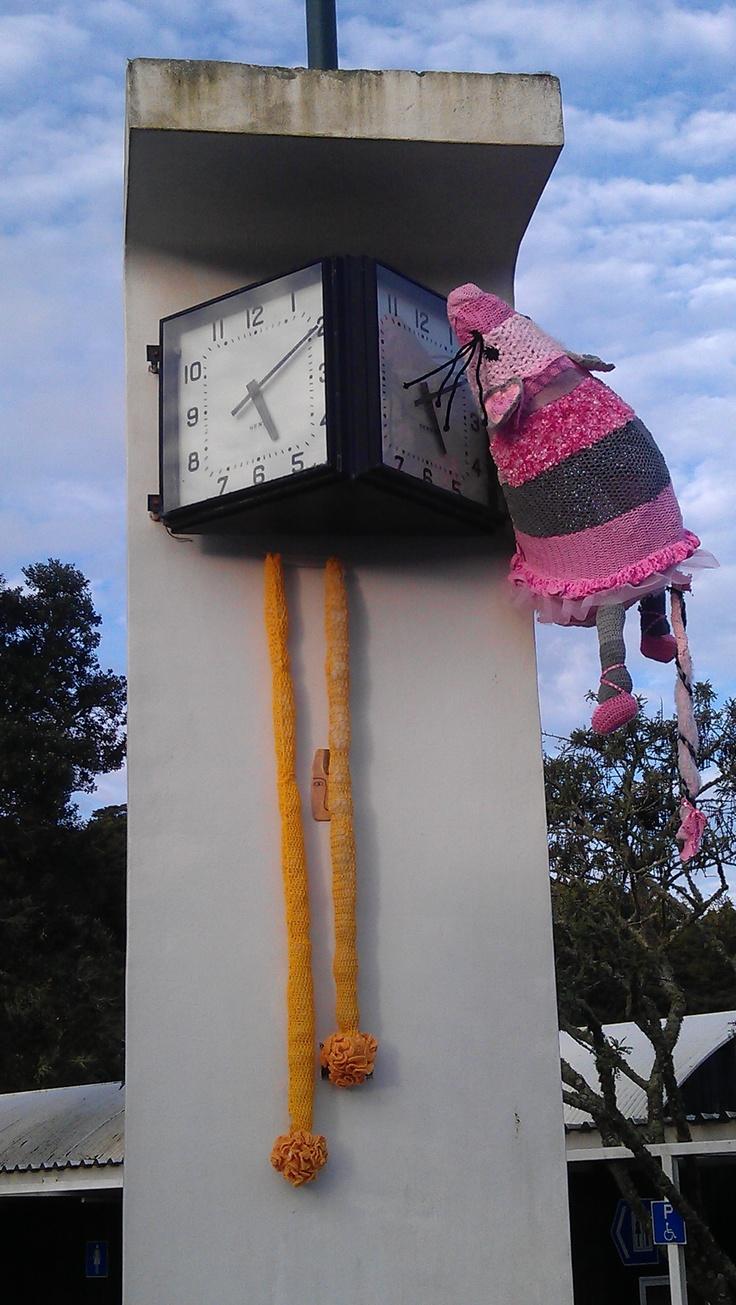 MATAKANA ATTRACTION - Hickory dickory dock, the mouse ran up the Warkworth Clock.