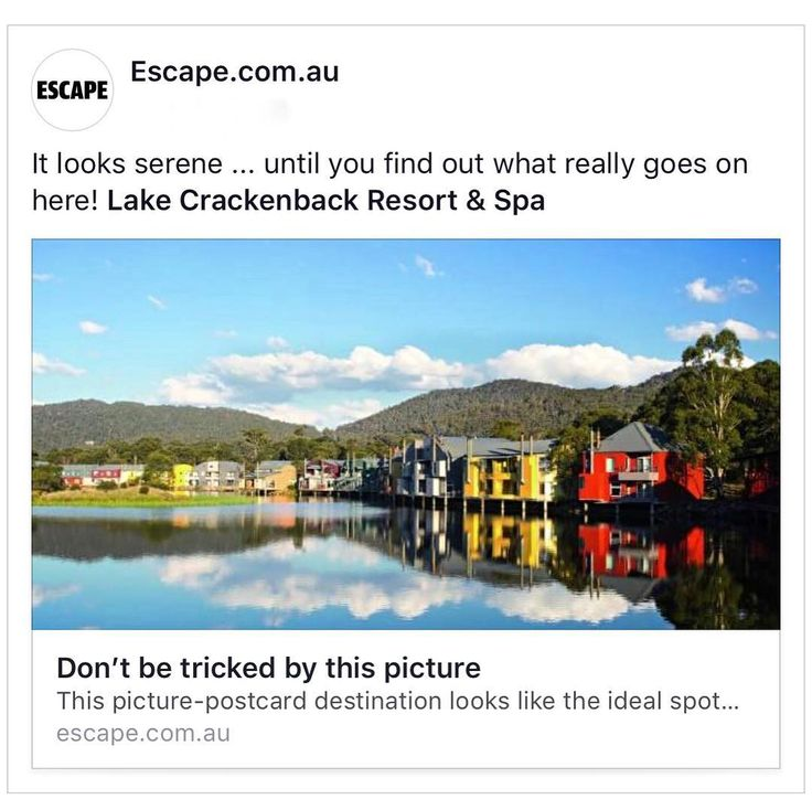 Guilty as charged ... Repost escape.com.au  LAKE CRACKENBACK SNOWY MOUNTAINS: TOP TIPS FOR A STAY By SIMON TSANG ESCAPE.COM.AU ... You could be easily fooled. All those serene pictures of a mirrored lake surrounded by mountains over-the-water accommodation and postcard-perfect chalets  it could give you the impression that Lake Crackenback Resort & Spa in the NSW Snowy Mountains is a place to relax and do nothing.  And then you find out about all the activities on offer. Mountain biking…