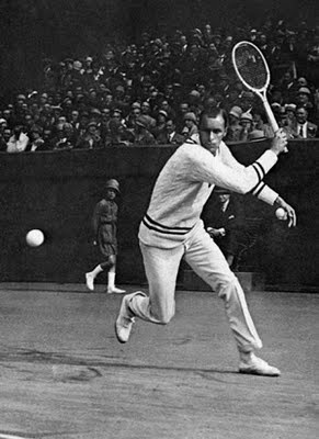 Bill Tilden (or nicknamed, Big Bill) is often considered one of the greatest tennis players of all time. Bill Tilden was the World No. 1 player for six years from 1920 through 1925.