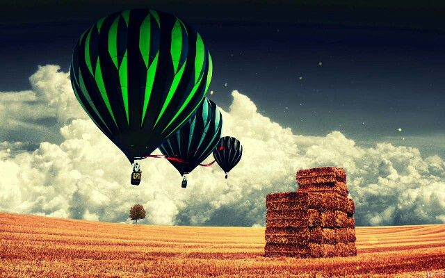 Air ballon via s5