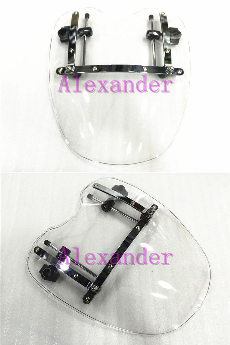 [Visit to Buy] Free Shipping Brand New Motorcycle Windshield Windscreen for Harley Davidson Sportster Dyna Glide Softail XL 883 1200 White xl #Advertisement