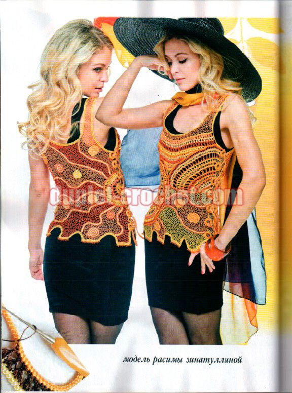 May 2016 #Journal #Jurnal #Zhurnal_MOD 597 #crochet n knit #crochet_patterns_book #crochet_magazine #crochet_mesh