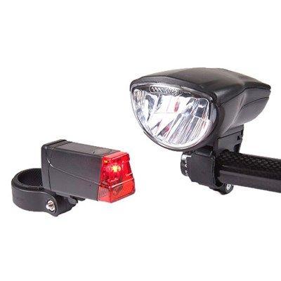 Chollo en Amazon España: Luz LED para bicicleta Büchel Duo Lux por solo 14,65€ (un 32% de descuento sobre el precio anterior y precio mínimo histórico)