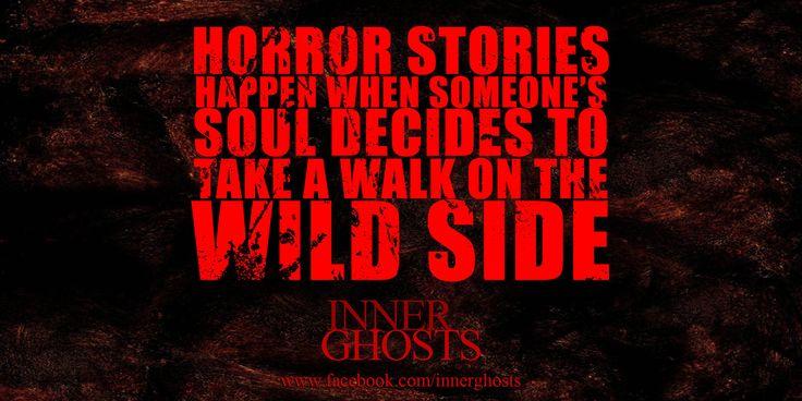 Horror stories happen when...