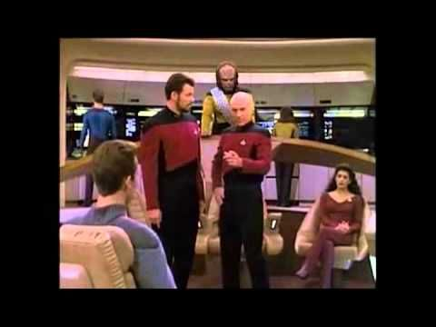 In case you haven't had enough ridiculous Christmas music yet, this is killer.  Star Trek- Let it snow - YouTube