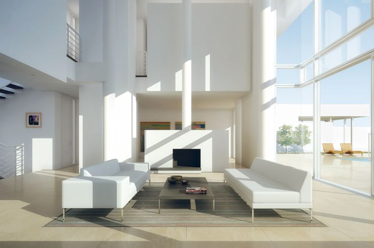 Architecture by Richard Meier #RichardMeier