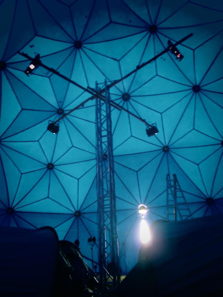 video art installation Dreamachine 2.0 by Sarah Kuipers and Suzanne van Dongen