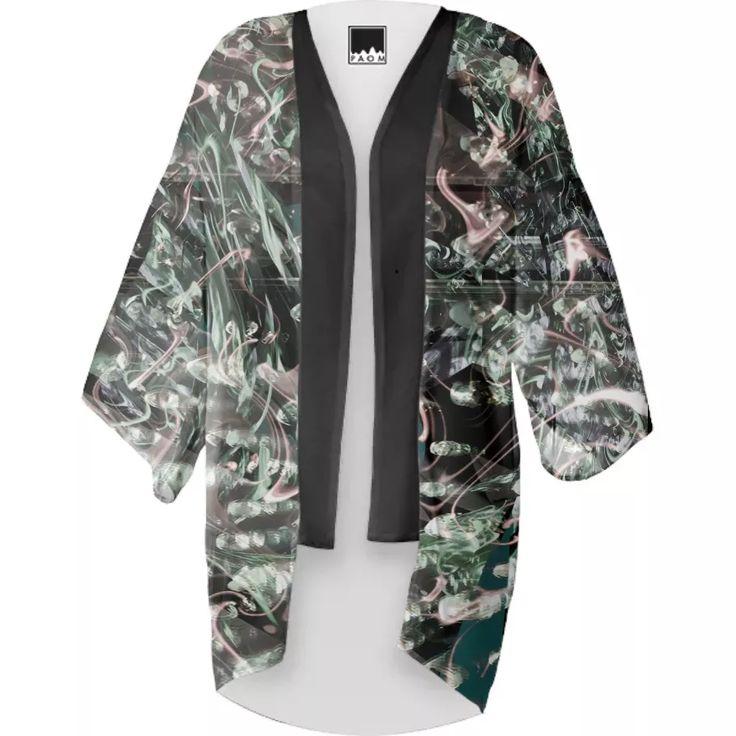 Shop Dejavu Kimono by Kamo Vamo | Print All Over Me