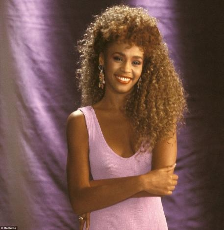 Whitney's Hair - remember buying a wig like her hair and wore for Halloween one year.....