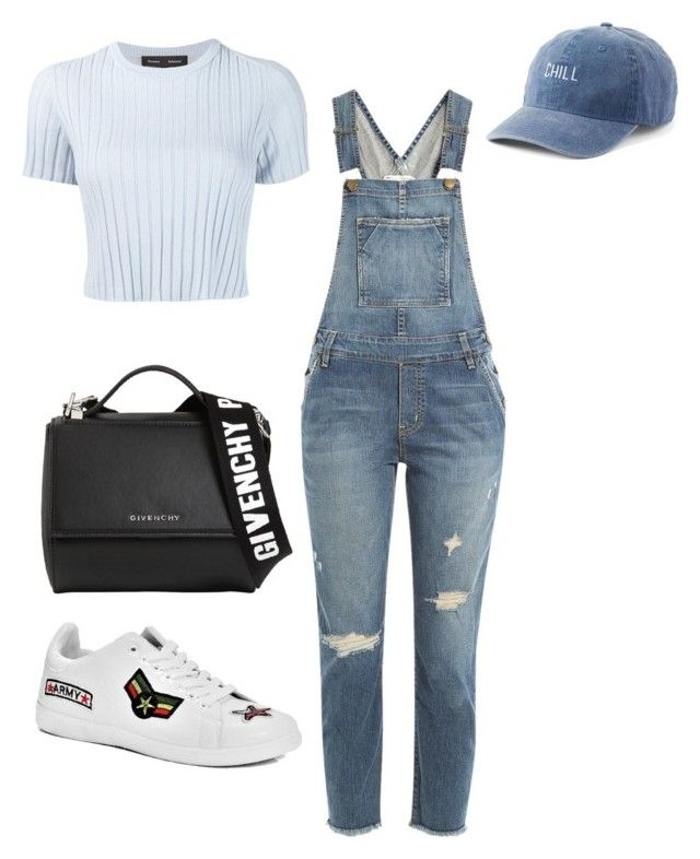 """""""Untitled #104"""" by rahmadita14 on Polyvore featuring Proenza Schouler, Current/Elliott, Boohoo, Givenchy and SO"""