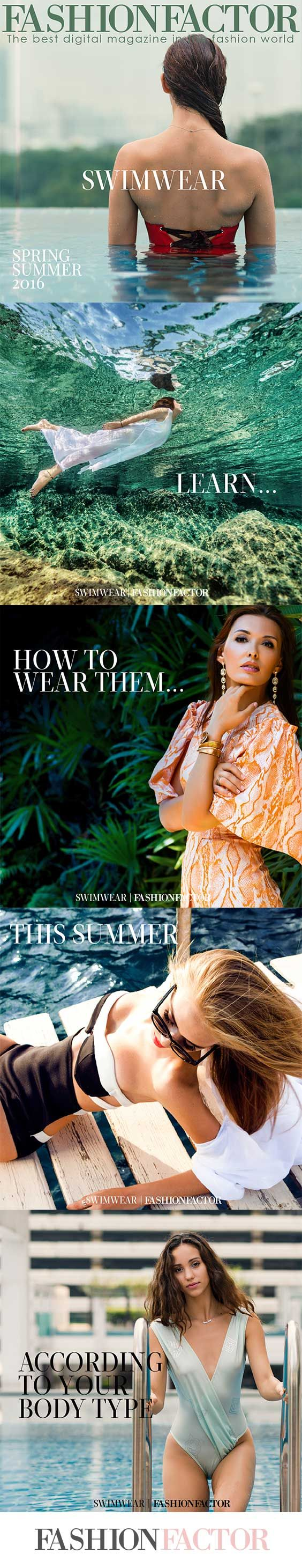 Get the latest Swimsuit summer trends for 2016 according to your body type.