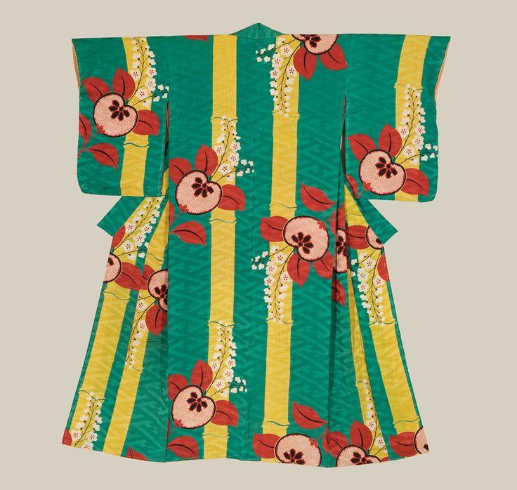 Die Taishô-Zeit (1912-1926) bedeutete für den Kimono Farbenpracht pur! // The Taishô period (1912-1926) created an explosion of colourful kimono-designs!