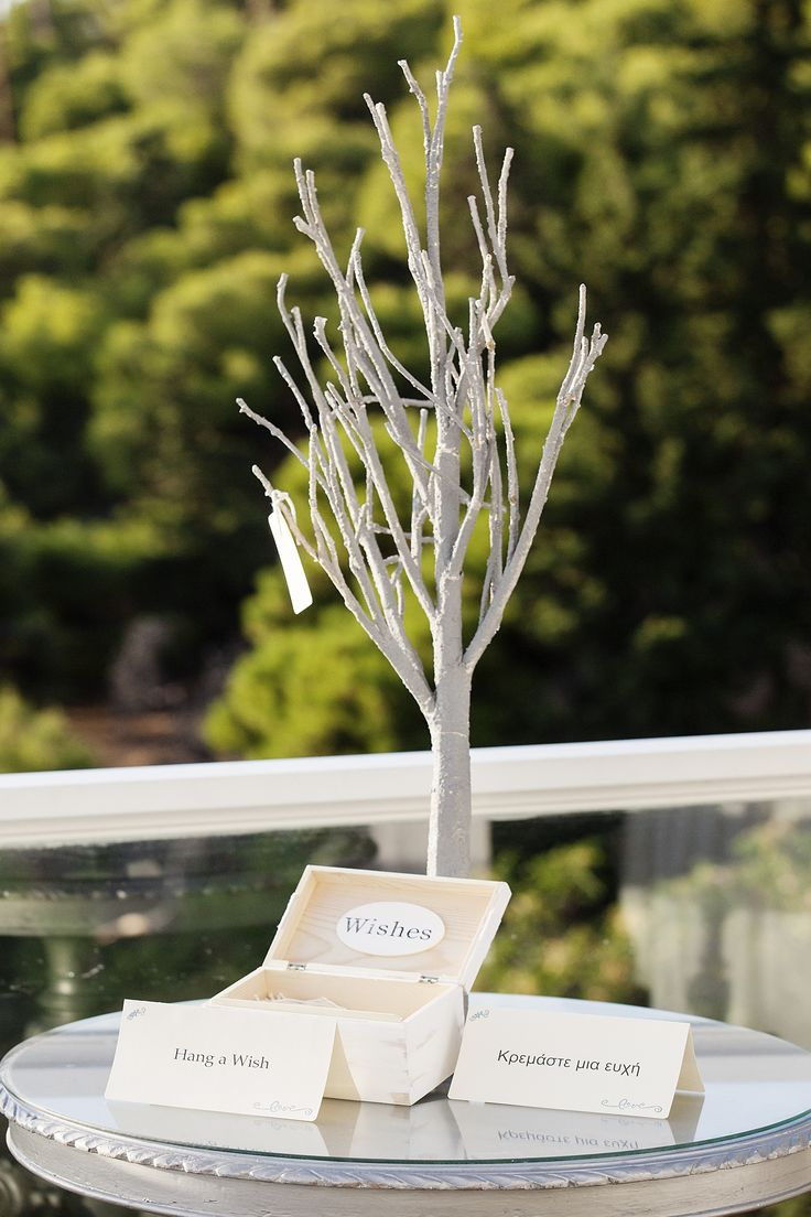 #Dreams In Style #Athens #Greece #wishtree #wishes #Guestbook #elegant #minimal #weddingplanner  Photo Credits: Petros Delatollas
