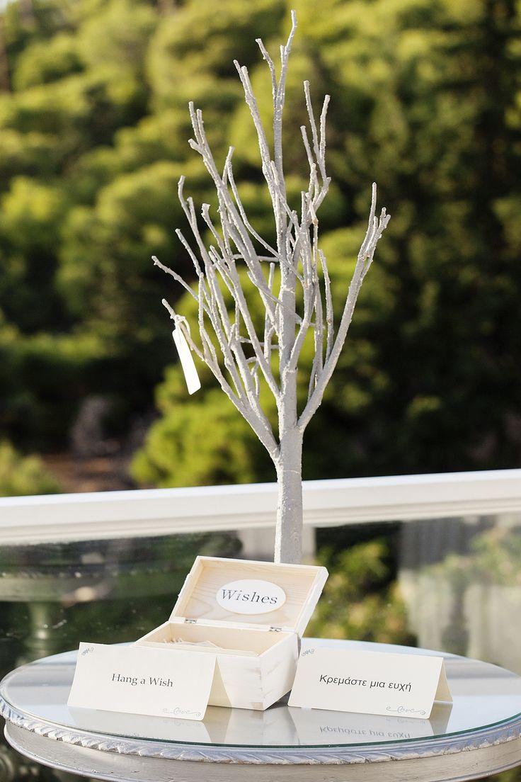 #Dreams In Style #Athens #Greece #wishtree #wishes #Guestbook #elegant #minimal #weddingplanner  Photo Credits: Petros Delatollas