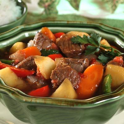... Asian flavors. See more beef stew recipes here. #BeefStew #Filipino #