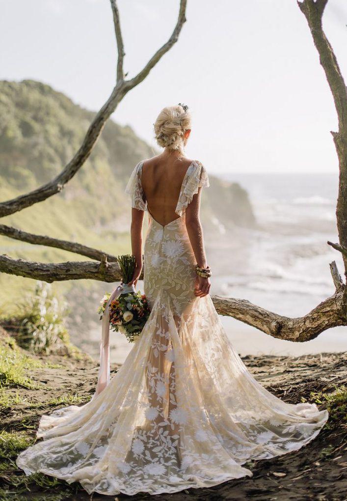 Best wedding dresses 2016 - boho gown by Rue de Seine bridal