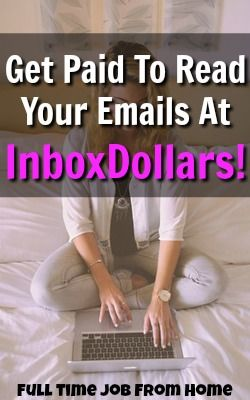 Learn How You Can Get Paid To Read Your Emails By Joining Inbox Dollars and Earning $5 Just For Signing Up!