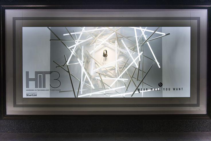 Harrods Window Display   Harrods Is Technology, Third Floor #HIT3 by Millington Associates