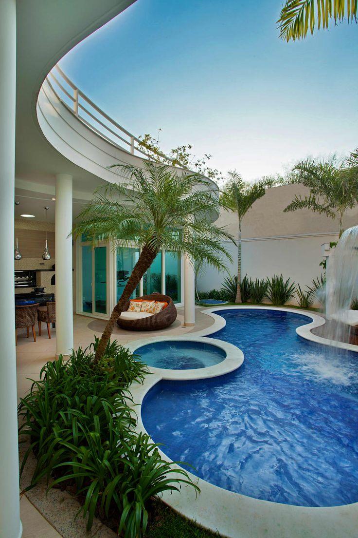25 melhores ideias sobre piscinas modernas no pinterest for Piscinas modernas