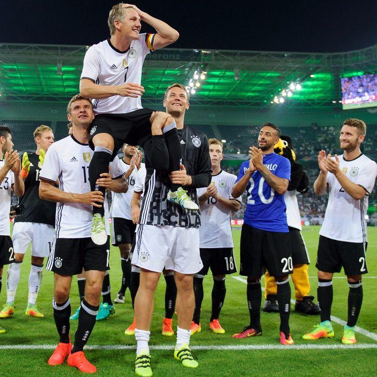 "Shkodran Mustafi บนทวิตเตอร์: ""Hard to imagine the @DFB_Team without you…"