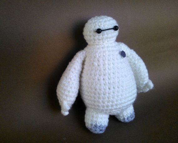 BAYMAX AMIGURUMI PATTERN Instant Download by ErinsAmigurumi