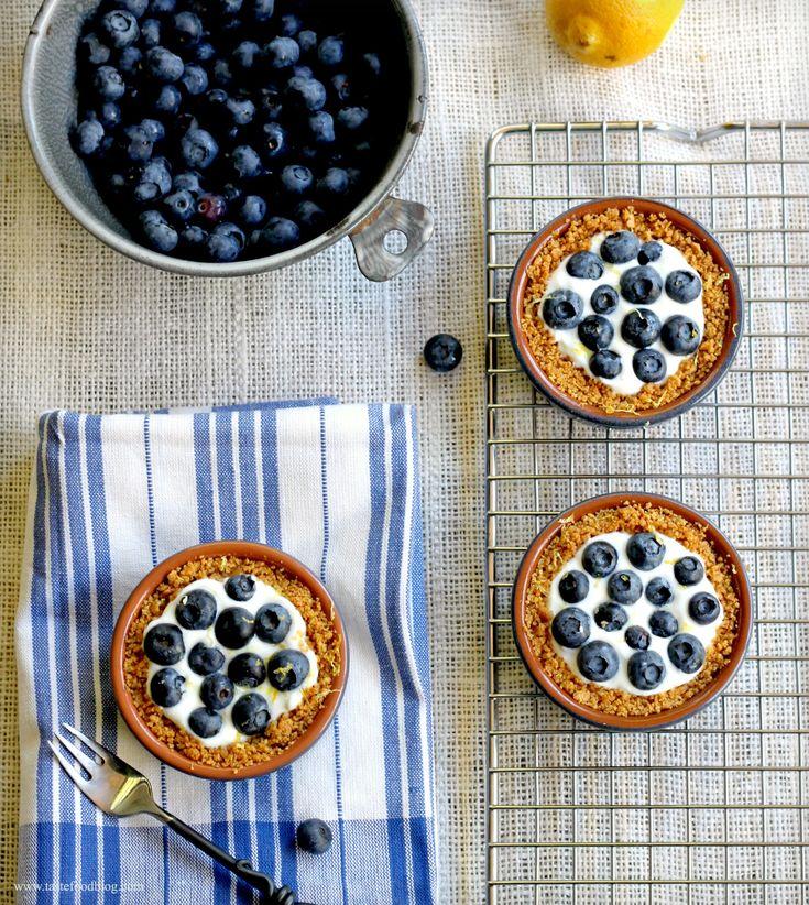 Blueberry Lemon Tartelettes