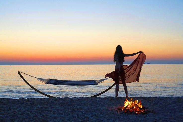 Paros island, Parikia beach, Greece