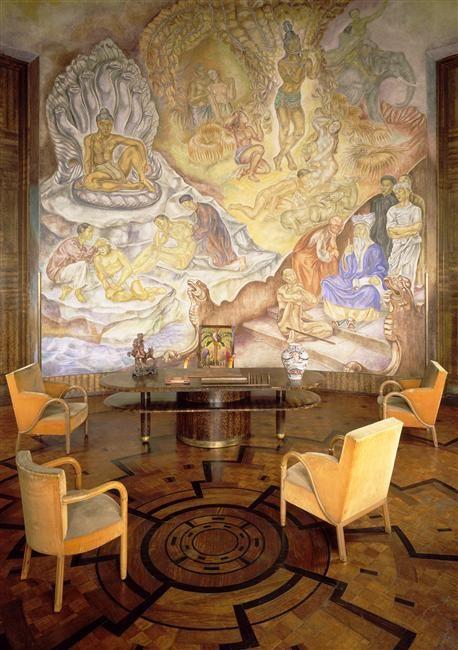 70 best Art Deco Murals images on Pinterest | Murals, Photo ...