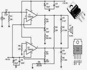 usb powered audio power amplifier wiring diagram