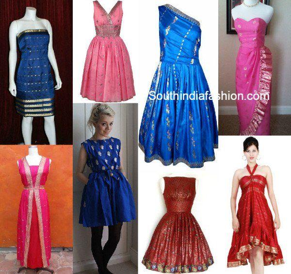 sari_dress_from_old_sarees.jpg (600×565)