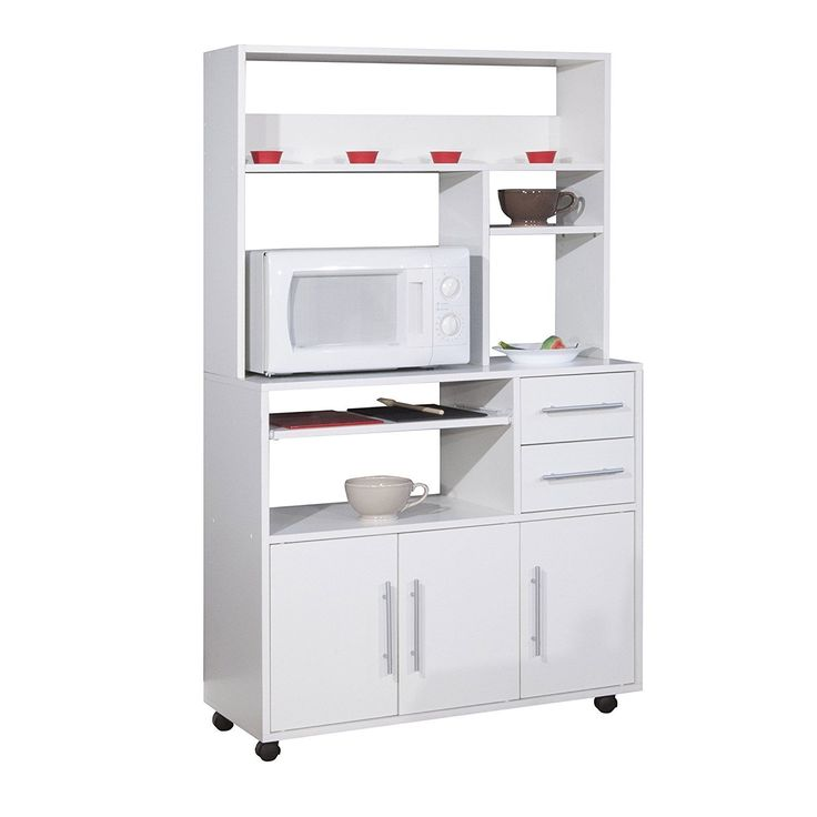 couchette olivo white microwave storage cabinet on wheels made in france amazon in home on kitchen organization microwave id=46828