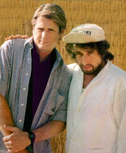 Brian Wilson and Bob Dylan