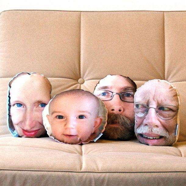 Custom Pillow Head