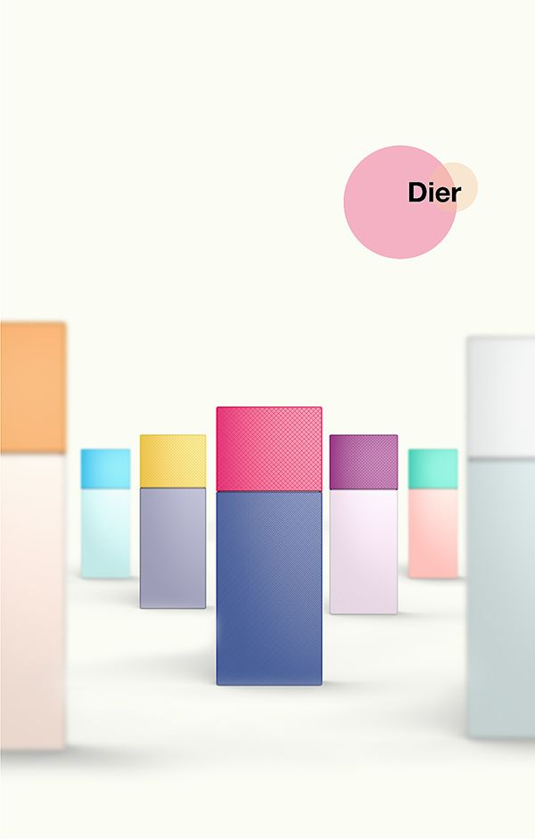 DIER by Jingxi Li, via Behance