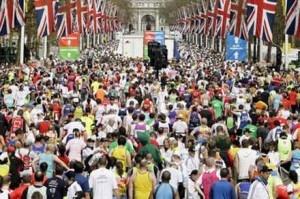 London Marathon :}