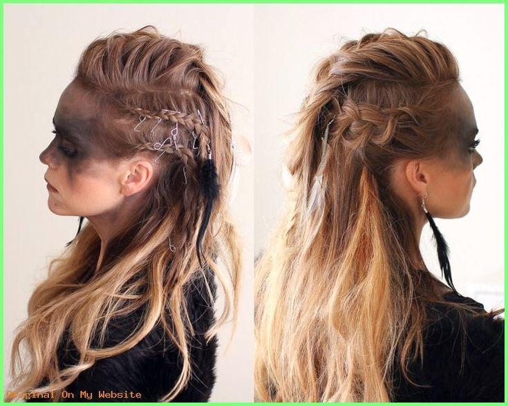 Frauen Frisuren Lange Haare Neue Frisuren 2017 Wikinger Frisuren Fur Frauen Und Manner I Frauen Wikinger Frisuren Viking Frisur Geflochtene Frisuren