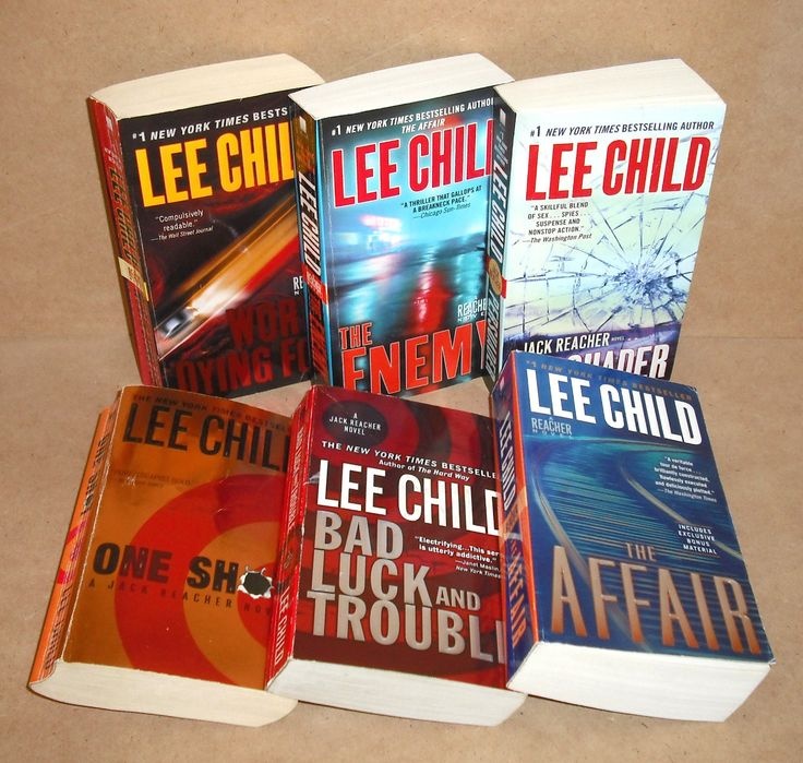 Any Lee Child Book. If you like action, murder, and mayhem, this is for you.