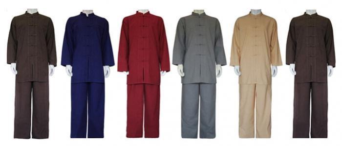 Oriental style male spa receptionist or therapist uniform for Uniform spa sistemi per serramenti