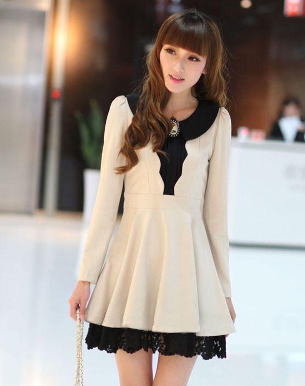 ゴシック風のブローチが衿で付いている、ざっくりとした風合いのあるワンピース。フロントに縦シルエットのギャザーディテールがあることで、すっきり見えるのが嬉しい♪着心地の良いの裾に、レースをたたんで大人の女性らしく着こなせ。 http://www.cithy.jp/fgn-girl-series-knitted-women-one-piece-dress-3colors-w9520106a.html